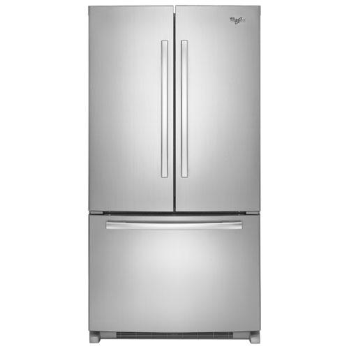 whirlpool french door refrigerator white. whirlpool 36\ french door refrigerator white