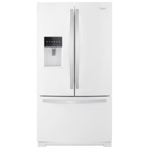 réfrigérateur à 2 portes 26,8 pi3 36 po de whirlpool avec