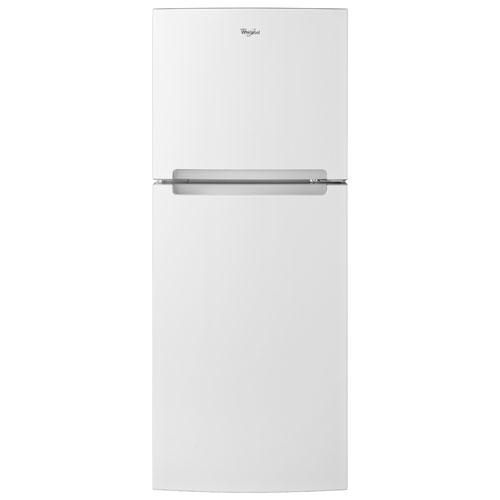 Réfrigérateur à congélateur supérieur 25 po 10,7 pi3 de Whirlpool - Blanc