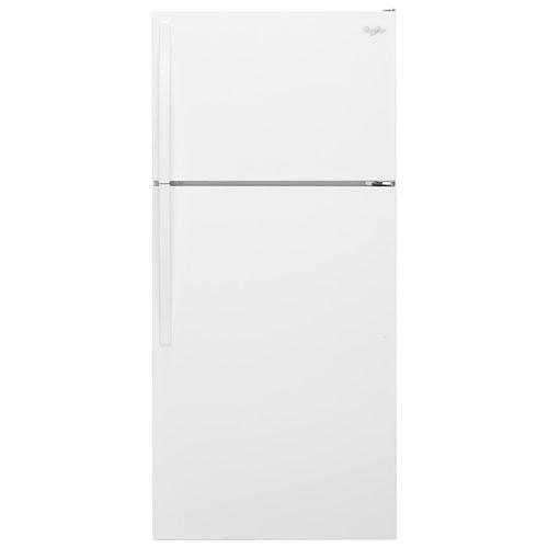 "Whirlpool 28"" 14.3 Cu. Ft. Top Freezer Refrigerator - White"