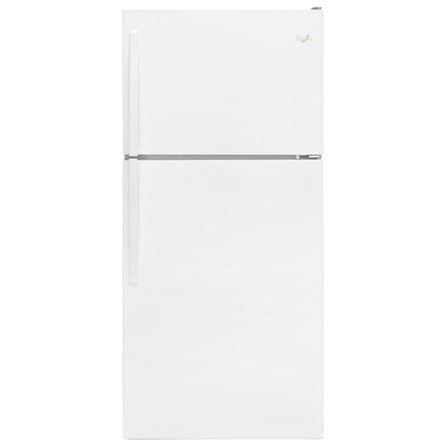 "Whirlpool 30"" 18.2 Cu. Ft. Top Freezer Refrigerator - White"