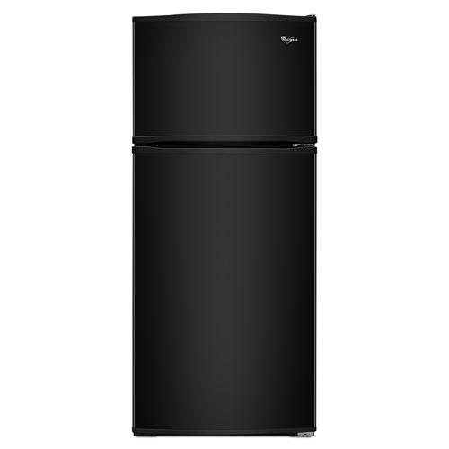 "Whirlpool 29"" 16.0 Cu. Ft. Top Freezer Refrigerator - Black"