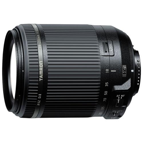 Objectif 18-200 mm f/3,5-6,3 de Tamron pour appareil photo de Nikon