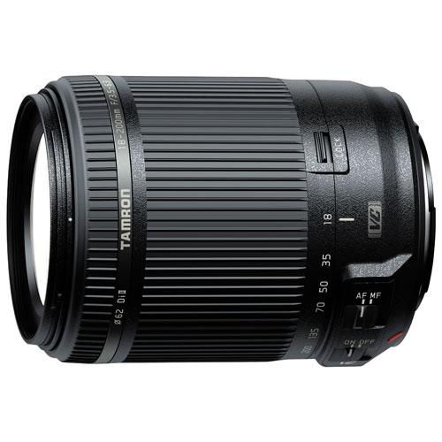 Objectif 18-200 mm f/3,5-6,3 de Tamron pour appareil photo de Canon