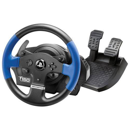Volant de course T150 de Thrustmaster pour PS5/PS4/PC
