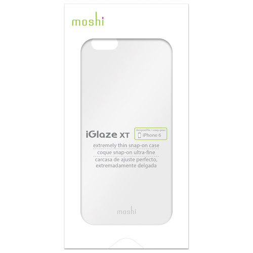 Moshi iGlaze XT iPhone 6/6s Fitted Hard Shell Case - Clear