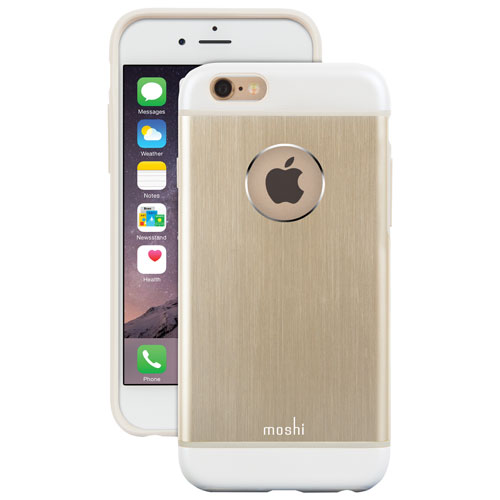 Moshi iGlaze Armour iPhone 6/6s Fitted Hard Shell Case - Gold