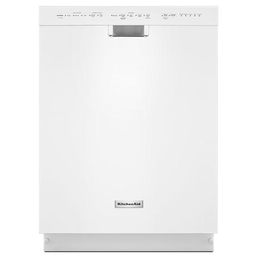 "KitchenAid 24"" Tall Tub Built-In Dishwasher (KDFE104DWH) - White"