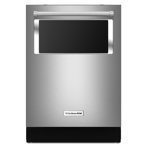 "Kitchenaid 24"" 44 dB Built-In Dishwasher (KDTM384ESS) - Stainless Steel"