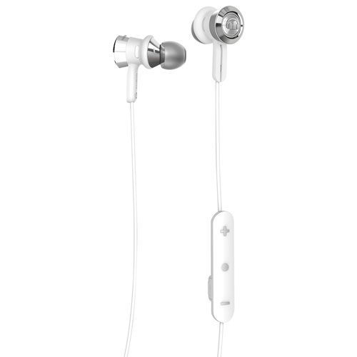 Monster Clarity In-Ear Wireless Headphones with Mic (MH CLY IE WHCR BT) - White