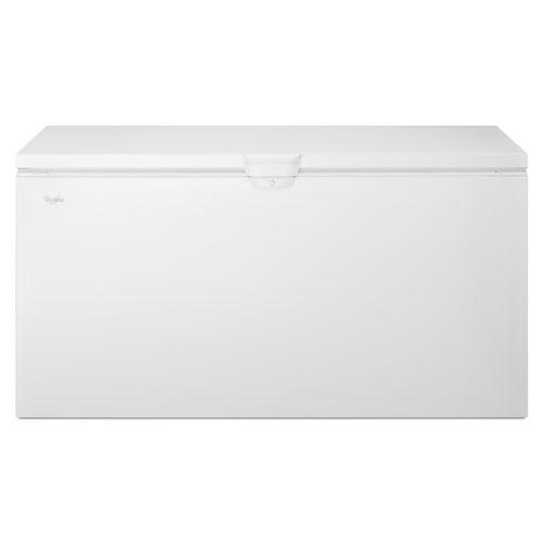 Congélateur-coffre de 22 pi3 de Whirlpool (WZC3122DW) - Blanc