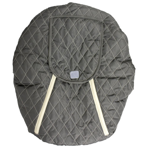 Mint Marshmallow Infant Car Seat Cover - Grey