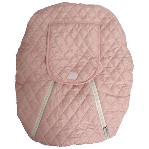 Housse de siège d'auto pour bébé Mint Marshmallow - Rose