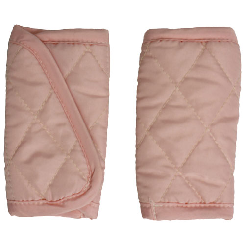 Mint Marshmallow Infant Car Seat Belt Strap Cover - Pink
