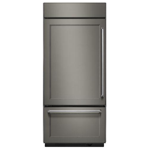 "KitchenAid 36"" 20.9 Cu. Ft. Bottom Mount Refrigerator (KBBL206EPA) - Panel-Ready"