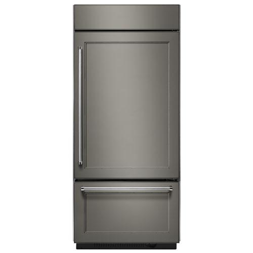Réfrigérateur de 36 po et 20,9 pi3 à congélateur en bas de KitchenAid (KBBR206EPA) - Pour panneaux