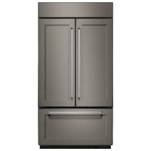 "KitchenAid 43"" 24.2 Cu. Ft. French Door Refrigerator (KBFN502EPA) - Panel-Ready"