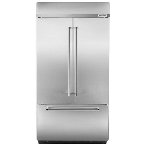 Réfrigérateur à 2 portes de 42,25 po et 24,2 pi3 de KitchenAid (KBFN502ESS) - Acier inoxydable