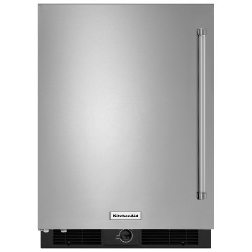 "KitchenAid 24"" 4.9 Cu. Ft. Undercounter Refrigerator - Stainless Steel"