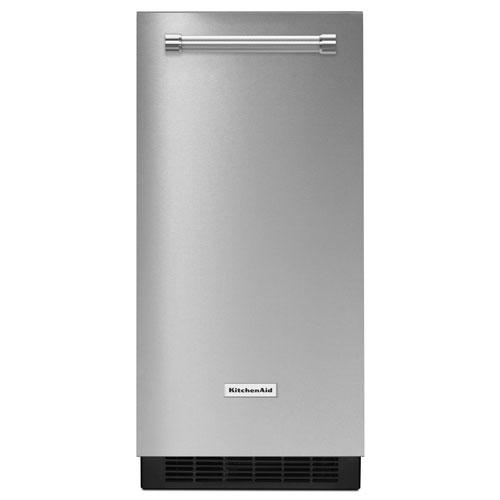 "KitchenAid 15"" Automatic Ice Maker (KUIX505ESS) - Stainless Steel"