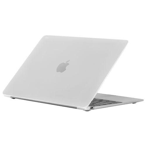 Étui rigide ajusté iGlaze de Moshi pour MacBook de 12 po (99MO071905) - Transparent