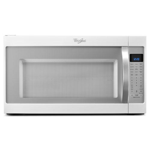 "Whirlpool 30"" Over-the-Range Microwave Hood Combo - 2.0 Cu. Ft. - White Ice"