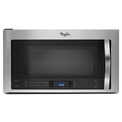 Whirlpool Over-The-Range Microwave - 1.9 Cu. Ft. - Stainless Steel