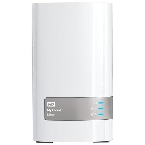 Dispositif de stockage en réseau My Cloud Mirror à 3 baies de 6 To de WD (WDBWVZ0060JWT-NESN)