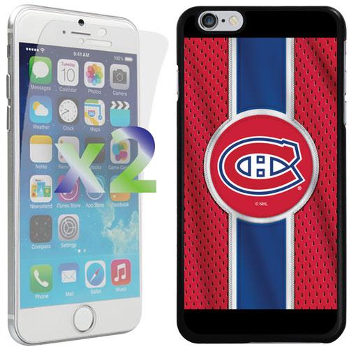 Étui Canadiens de Montréal d'Exian pour iPhone 6 Plus/6s Plus - Rouge/bleu/noir