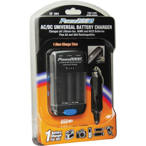 Power2000 AC/DC Universal Battery Charger (XP-UNV)