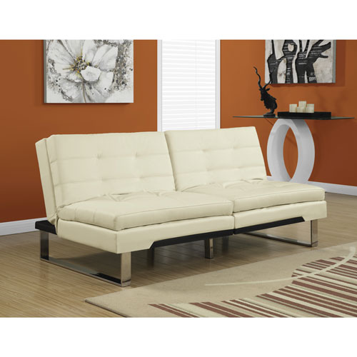 contemporary futon   ivory  i 8951  contemporary futon   ivory  i 8951    futons  u0026 sofa beds   best      rh   bestbuy ca