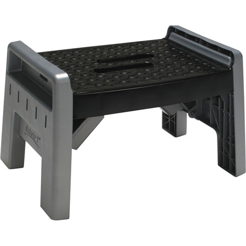 Cosco Folding Step Stool - Black/Grey