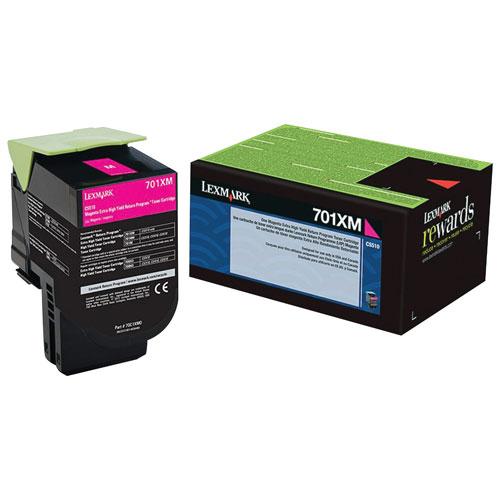 Lexmark 701XM Magenta Extra High Yield Return Program Toner (70C1XM0)