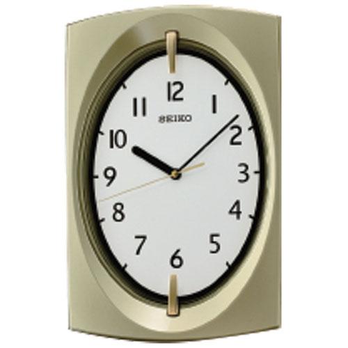 Seiko Wall Clock - Gold/White
