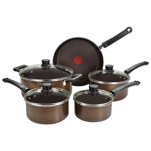 T-fal Natura 9-Piece Cookware Set (A2809052) - Brown