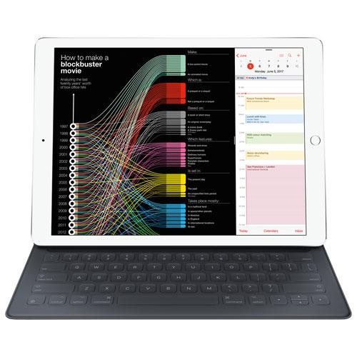 Clavier Smart Keyboard pour iPad Pro de 12,9 po d'Apple - Gris