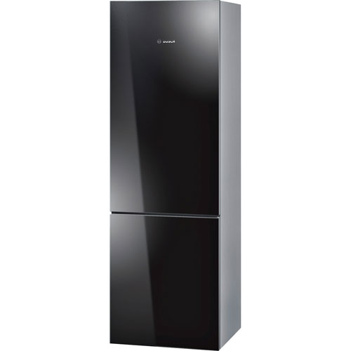 "Bosch 24"" 10 Cu. Ft. Bottom Freezer Refrigerator with LED Lighting - Black"