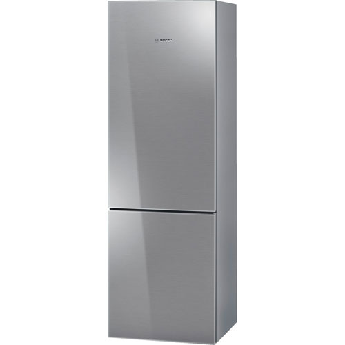 "Bosch 24"" 10 Cu. Ft. Bottom Freezer Refrigerator with LED Lighting - Stainless Steel"