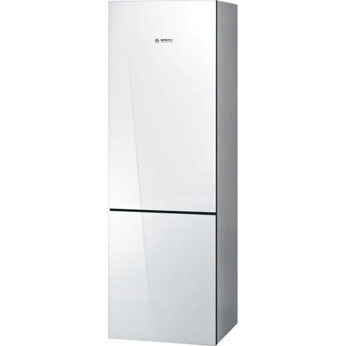 Réfrigérateur à congélateur en bas avec éclairage à DEL 10 pi3 24 po de Bosch - Blanc