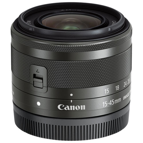 Objectif EF-M 15-45mm f/3,5-6,3 IS STM de Canon