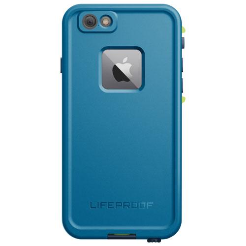 Étui rigide ajusté FRĒ de LifeProof pour iPhone 6/6s - Bleu