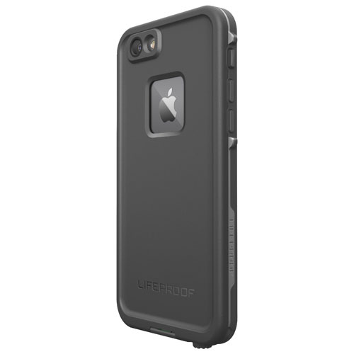 LifeProof Fre iPhone 6 6s Fitted Hard Shell Case - Black   iPhone 8 ... a693d13c4f5d