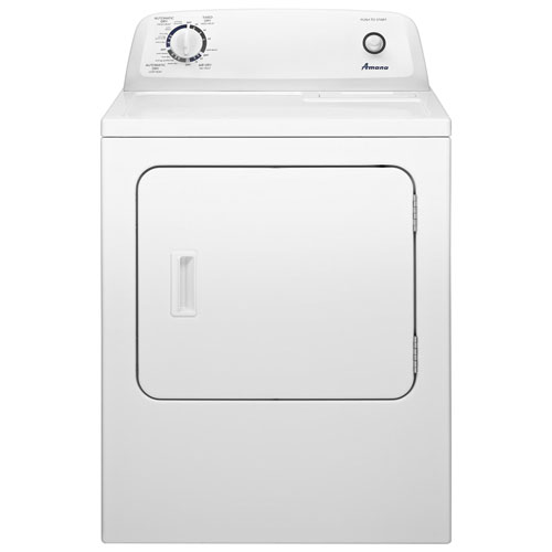 Amana 6.5 Cu. Ft. Electric Dryer - White