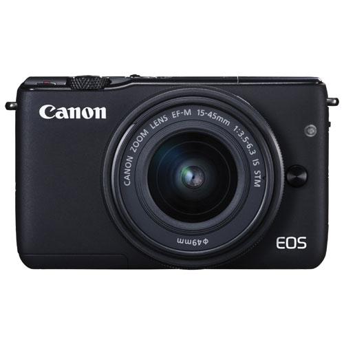 Canon EOS M10 Mirrorless Camera with 15-45mm Lens Kit