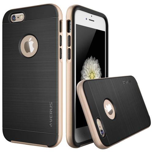 Étui rigide ajusté High Pro de Verus pour iPhone 6/6s - Doré