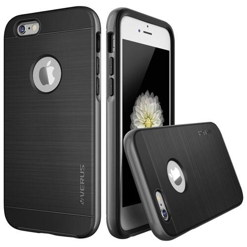 Étui rigide ajusté High Pro de Verus pour iPhone 6/6s - Noir