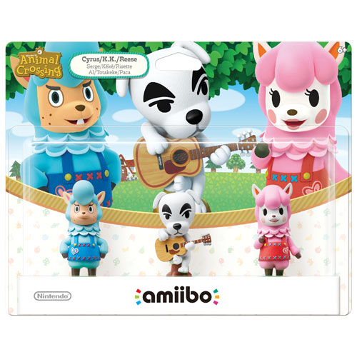amiibo Animal Crossing Cyrus / K.K. / Reese
