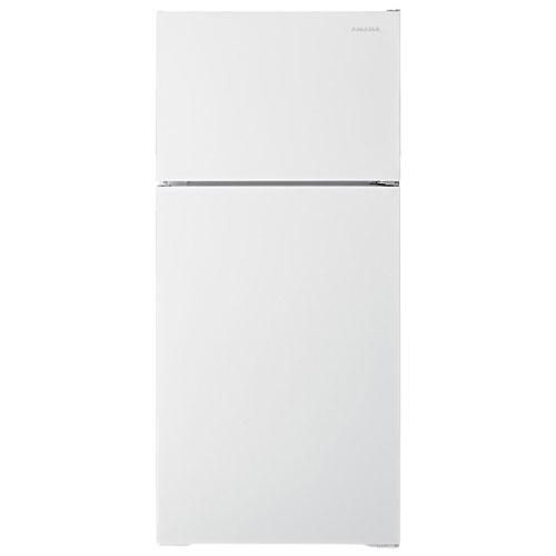 """Amana 28"""" 16 Cu. Ft. Top Freezer Refrigerator - White"""