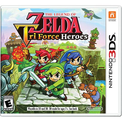 The Legend Of Zelda: Tri Force Heroes (3DS) - Jeu usagé