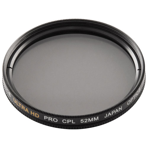 Bower 52mm Double-Edged Circular Polarizing Filter (FMC52CPL)